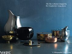 The Ilse Collection designed by Ilse Crawford for Georg Jensen.