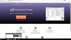 Tagging music using MusicBrainz Picard for adding to Kodi - YouTube