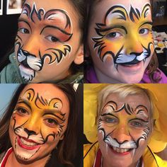"122 Likes, 3 Comments - Jane Professional Face Painter (@rainbowrascals) on Instagram: ""Lions at The Lions Rugby #lions #lionsnz2017 #queenswharf #rainbowrascals #facepainting #fanzone…"""