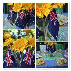 Table Decor - Make it colourful!