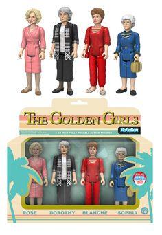 2016 NYCC Exclusive Golden Girls ReAction Figures Boxset - - Action Figures Toys…