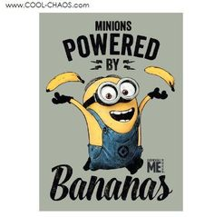 Itse ilkimys (Despicable Me) - Powered by Bananas julisteet, poster, valokuva Amor Minions, Minions Love, My Minion, Minions Quotes, Minions 2014, Girl Minion, Minion Banana, Minion Humour, Minion Jokes