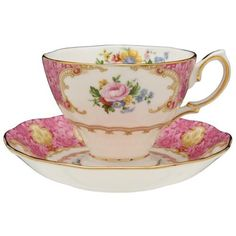 Royal Albert Lady Carlyle Teacup & Saucer