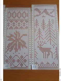 Knitting Machine Patterns, Christmas Knitting Patterns, Christmas Embroidery, Knitting Charts, Lace Knitting, Knitting Stitches, Knit Patterns, Stitch Patterns, Filet Crochet