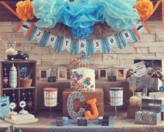 Vintage Truck Birthday Party Ideas | Photo 1 of 18 | Catch My Party
