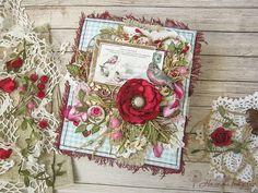 Seven Winds: Снегири, розы, травы и ... заварной крем