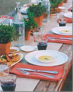 Casa de Valentina -Um almoço informal