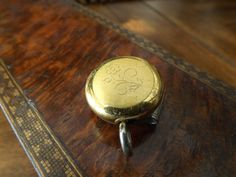 Vintage Ketchcam Watch Key Chatelaine Fob by GoldenBeeAntiques