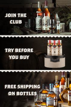 A Whiskey Club for Explorers at heart!
