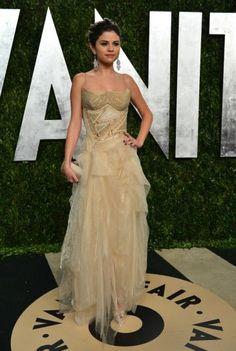 Abito Versace Couture per Selena Gomez