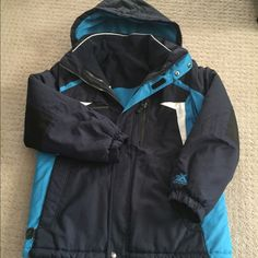 Boy's 3 in 1 Jacket Boy's 3in1 Jacket; featuring an inner and outer jacket; inner jacket 4 pockets; outer jacket 3 pockets; polyester; machine wash; in excellent condition ZeroXposur Jackets & Coats
