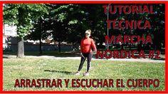 APRENDER MARCHA NORDICA TUTORIAL SEGUNDO PASO