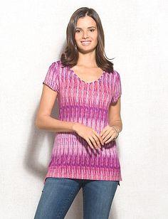 Dear Stichfix - love the color, pattern and neckline