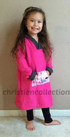Girl Hoody DressTween Hoody DressBaby by Christiencollection2