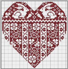 """This is the """"Spring Heart"""" from this site - there are hearts for the other…"""