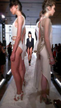 Katie Gallagher Fashion Show | New York Fashion Week  Photo taken with an HTC One