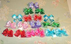 30 Dog Grooming Hair Bows - Valentine's Day Collection- variety colors and decorated with Hearts - http://www.thepuppy.org/30-dog-grooming-hair-bows-valentines-day-collection-variety-colors-and-decorated-with-hearts/