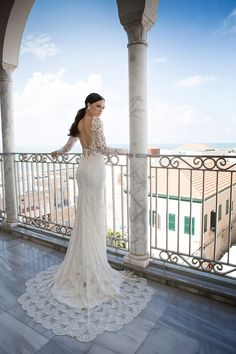 Hadas Cohen |  His gowns walk the perfect line between sexy and elegant, making them a wonderful fit for brides looking for a fashion-forward yet figure enhancing gown|