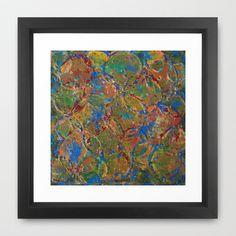 Around And Around Framed Art Print by WinchesterWendy - $33.00