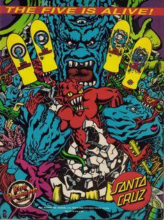 Santa Cruz Rob Roskopp Vintage Ad