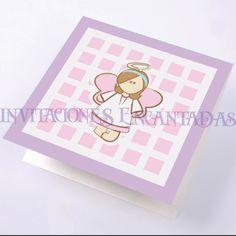 Invitacion de Bautizo Modelo: Babysimple 14
