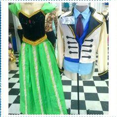 #Locação #Príncipe #Hans e #Princesa #Anna de #Frozen by #Belyfantasias
