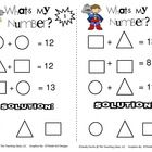 Great as an enrichment activity. Sheet gives hints to a
