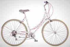 DIY Ways to Pimp Your (Bike) Ride via Brit + Co. - Polka Dot Frame: We 100 percent love Public Bike's polka-dot frame, but it's currently unavailable, and we don't really love the price tag. This is a job for sticker dots or even the almighty Sharpie. (Public Bikes)