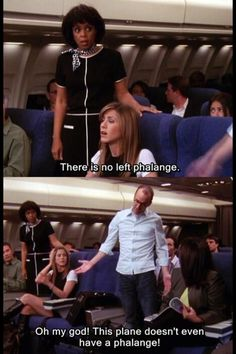#FRIENDS | ....there is no left phalange