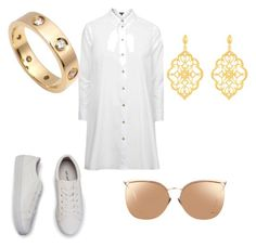 """Suggested clothes pt.11"" by lildae on Polyvore featuring Topshop, Cartier, Kabella Jewelry and Linda Farrow"