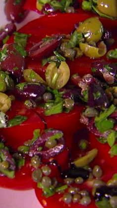 This fresh Roman Summer Salad brings the farmers' market right to your table.