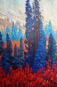 Dominik J Modlinski Artwork in Canada House Gallery Canada House, Landscape Paintings, Landscapes, Artwork Display, Large Canvas, Aerial Photography, Illustration Art, Sketches, Gallery