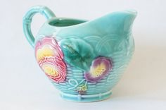 Vintage French Genevieve Paris French Majolica by SycamoreVintage