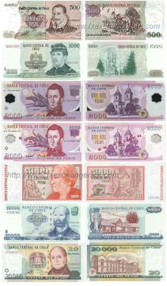 Banco De Chile. Pesos