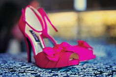 Nina Electra Pumps. I love pink!