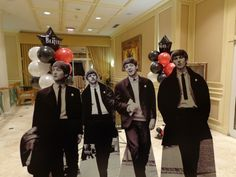 Awesome Life Size Beatles Cutouts!                                                                                                                                                                                 More