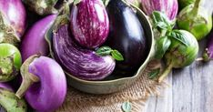 Get the Most Out of Homegrown Eggplant Eggplant Seeds, Eggplant Recipes, Wonderful Recipe, Growing Vegetables, Ricotta, Free Food, Spinach, Veggies, Lose Weight