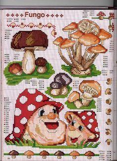Gallery.ru / Фото #20 - ENCICLOPEDIA ITALIANA 4 - KIM-2 Cross Stitch Charts, Cross Stitch Designs, Cross Stitch Patterns, Cross Stitching, Cross Stitch Embroidery, Cross Stitch Fruit, Plastic Canvas Coasters, Chart Design, Hand Embroidery Patterns