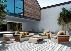 Outdoor Lounge Set - Higold Emperor | OROA