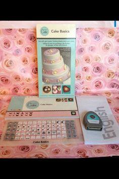 CRICUT CAKE BASICS Shapes & Font Cartridge Wedding Birthday Holiday 600 Images #ProvoCraftCricut #Cricut #CricutCakeBasics #CakeBasics