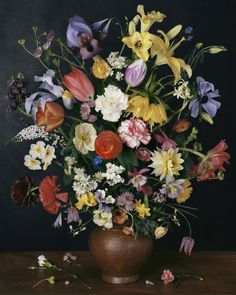 Sharon Core, 1634 (2011) ( I think this is a 2011 photo ... after a still life from the 17th century)