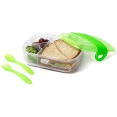 Click Lock™ Bento Mealtime Set (Green)
