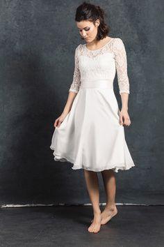 Brautkleider - Brautrock Chloé - ein Designerstück von Labude-FeineMode bei DaWanda