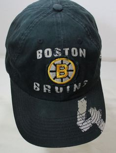 Boston Bruins Bobby Orr 4 Distressed Oldtime Hockey NHL Logo Velcro Back Hat Bobby Orr, Nhl Logos, Boston Bruins, Hockey, Baseball Hats, Baseball Caps, Field Hockey, Caps Hats, Baseball Cap