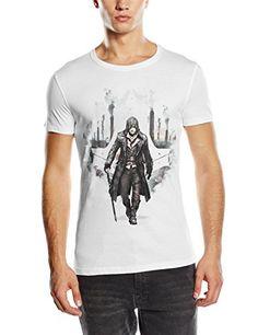 Assassins Creed Syndicate White Jacob Frye T-Shirt - Size Large (Electronic Games) [Importación Inglesa] #camiseta #realidadaumentada #ideas #regalo
