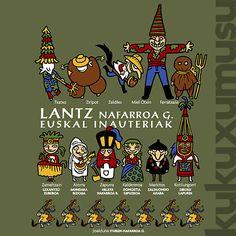 Lantz, Inauteriak by Kukuxumusu