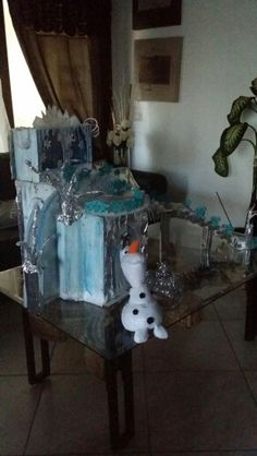 Home MadeFrozen Ice Castle