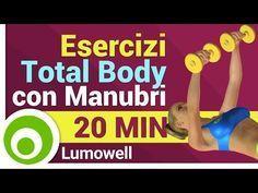 Esercizi con Manubri a Casa - Allenamento Completo per Tutto il Corpo - YouTube