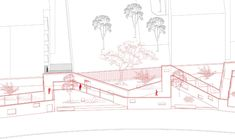 Gallery of Changli Garden / TM Studio - 18 Architecture Drawings, Amazing Architecture, Implementation Plan, Brick Wall, Cool Drawings, Three Dimensional, Places To Go, Restoration, The Neighbourhood