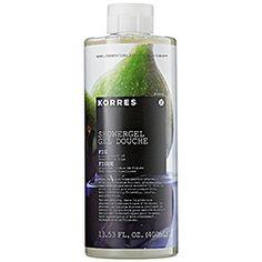 Korres -Fig shower gel from Sephora is AMAZING
